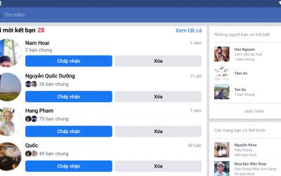 Tool Auto đồng ý kết bạn Facebook không checkpoint