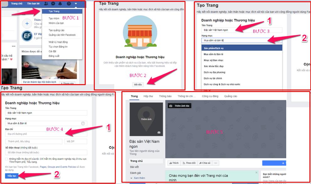 Cách Tạo Fanpage Bán Hàng Trên Facebook Mới Nhất